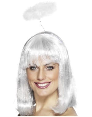 Auréola de anjo branca