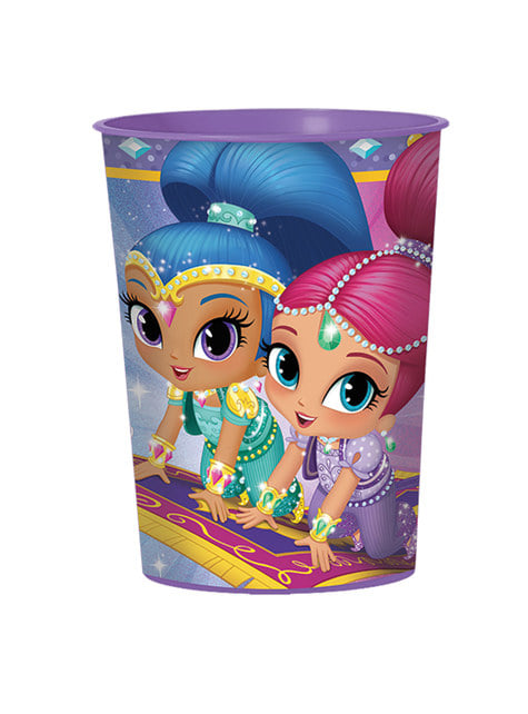 Hard plastic Shimmer and Shine cup