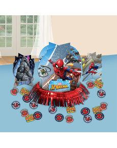 Set decoración para mesa de Spiderman