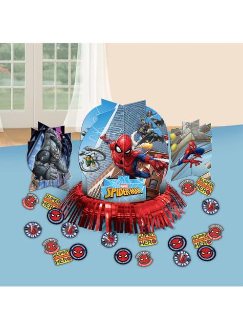 Conjunto decoração para mesa de Homem-Aranha