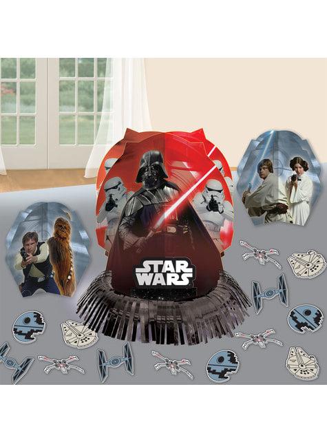 Set de decoración para mesa de Star Wars
