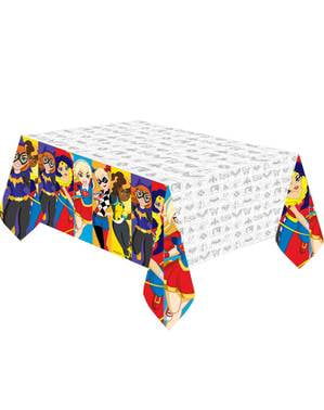 Toalha de Mesa de DC Super Hero Girls