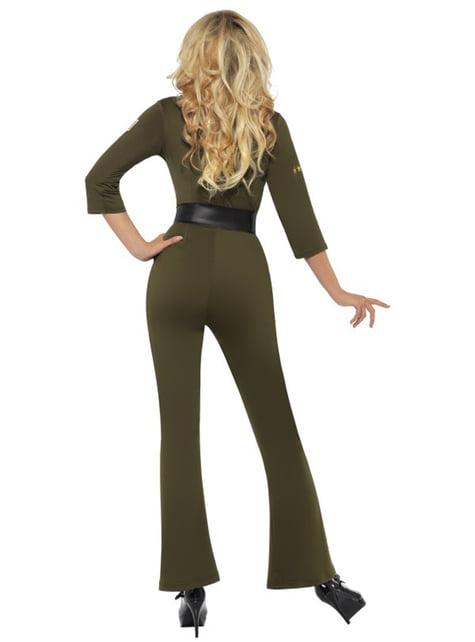 Disfraz de aviador de Top Gun para mujer - mujer
