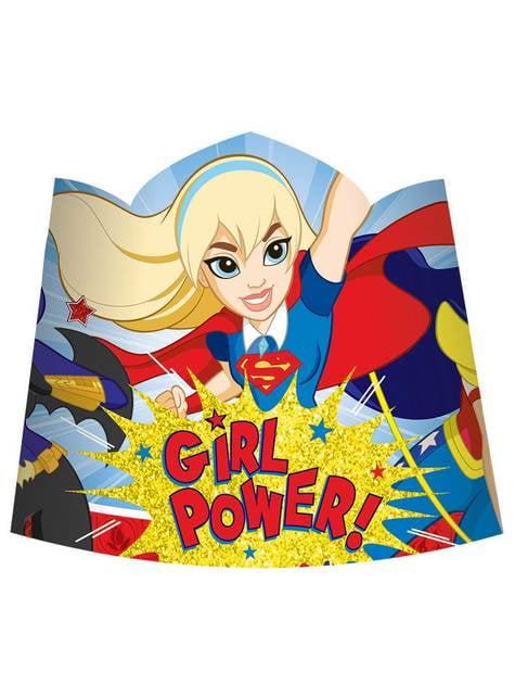 Set de 8 tiaras DC Super Hero Girls