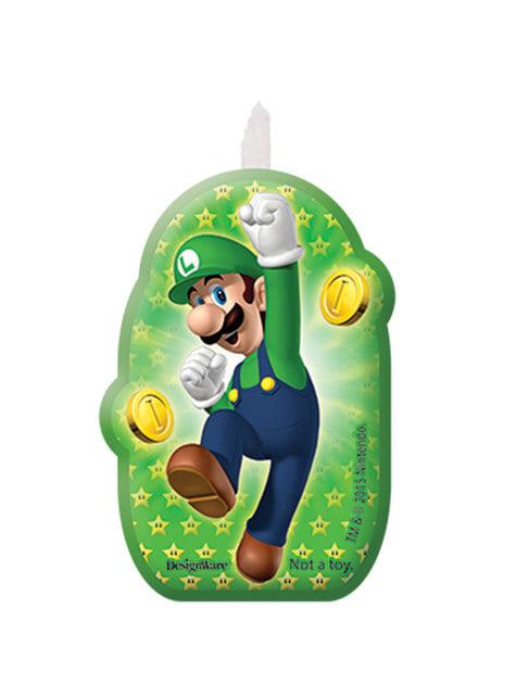 Set de 4 velas de Super Mario Bros