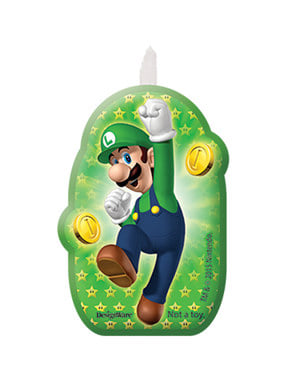 4 lumânări Super Mario Bros (5,5 - 7,8 cm) -