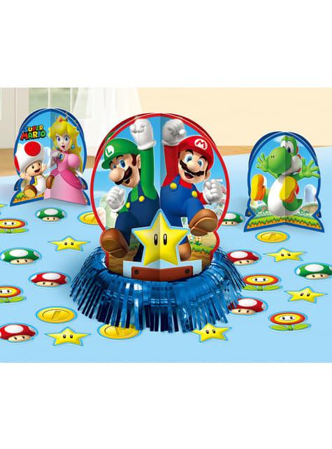 Set de decoración para mesa de Super Mario Bros