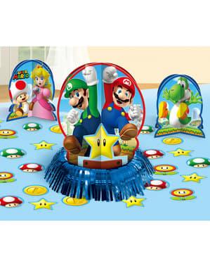 Conjunto de decoração para mesa de Super Mario Bros