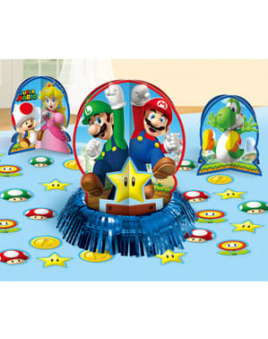 Set de decoración para mesa de Super Mario Bros