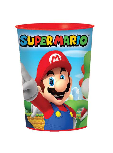 Vaso de plástico duro de Super Mario Bros