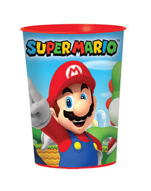 Mario Bros סופר פלסטיק קשיח כוס