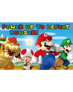 Super Mario Bros -peli lassten juhliin