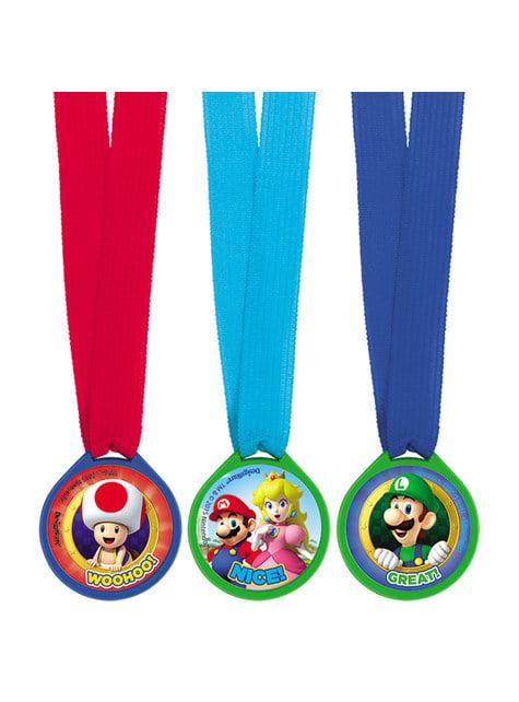 12 medallas de Super Mario Bros - barato