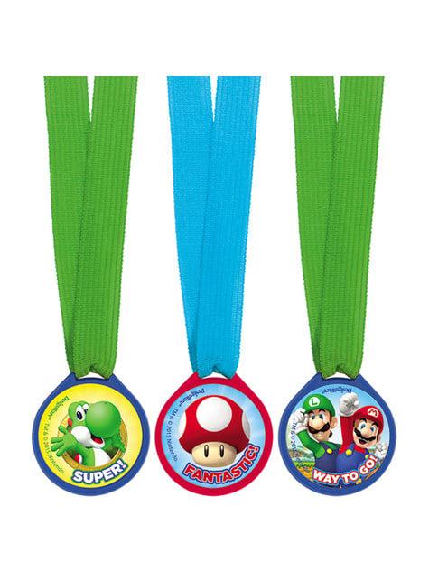 12 médailles Super Mario Bros