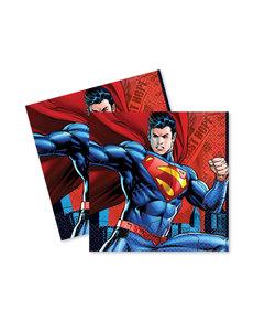 Set de 16 servilletas de Superman