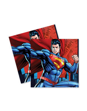 סט 16 napkings סופרמן