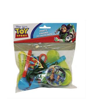 Sæt af 6 Toy Story mini spil