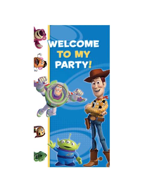Decoración para puerta de Toy Story