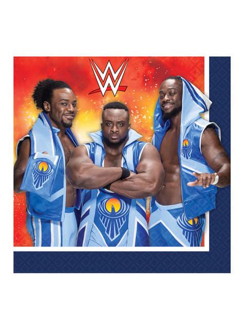 16 servilletas WWE (33x33 cm)