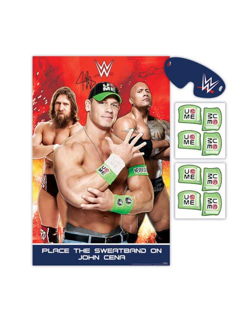 Juego para fiesta infantil WWE