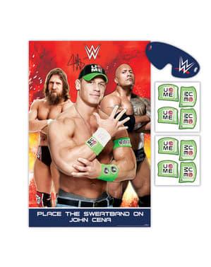 Jogo para festa infantil WWE