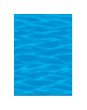 Dekorativ väggrulle hawaii vatten