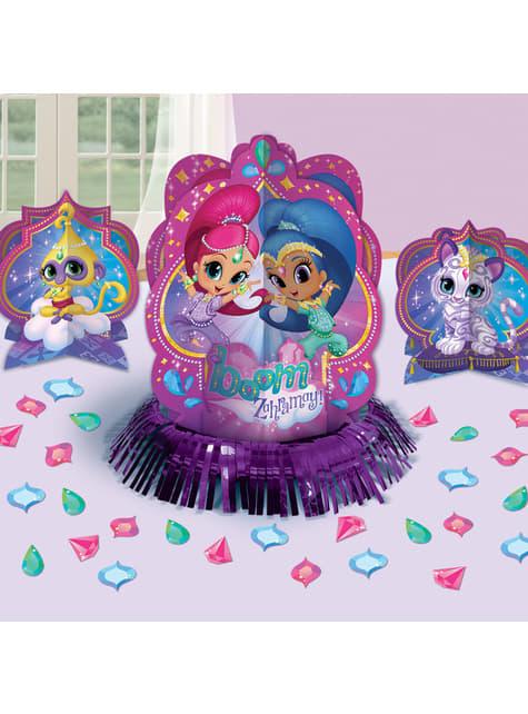 Set de decoración para mesa de Shimmer y Shine