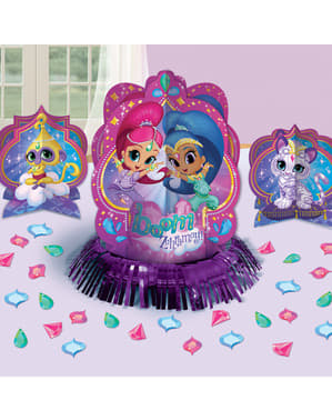 Shimmer and Shine table decoration set