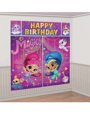 Shimmer and Shine wall decoration kit