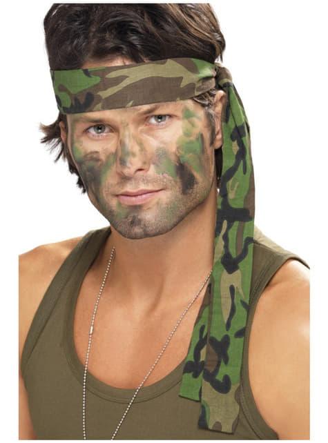 Opaska na włosy wojsko
