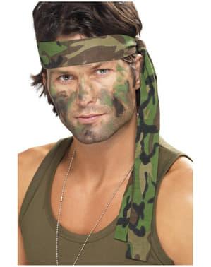 Bandă pentru păr army