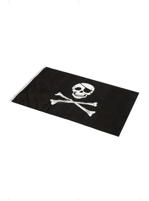 Pirátská vlajka 152 x 91 cm