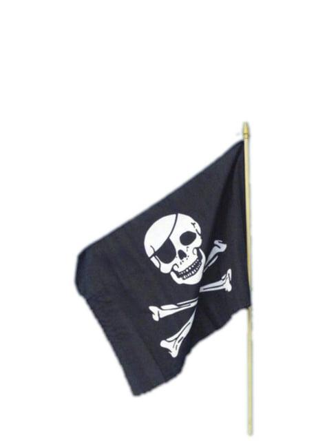 Pirátska vlajka 45x30cm