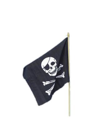 Pirátská vlajka 45 x 30 cm
