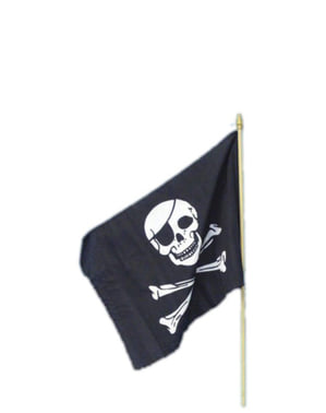 Піратський прапор 45х30см.
