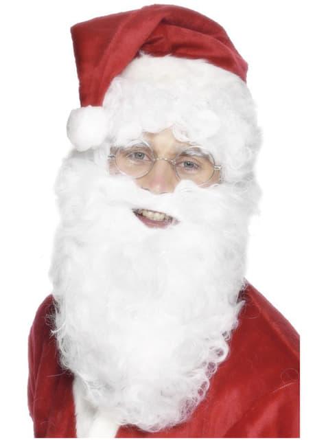 Valkoinen joulupukin parta