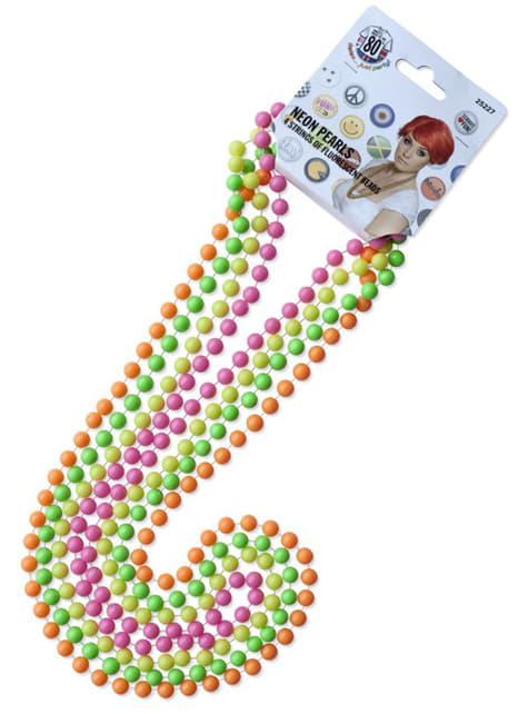 Collares de perlas de neón - original