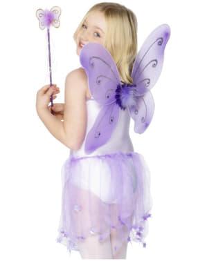 Крила метелика пурпурні
