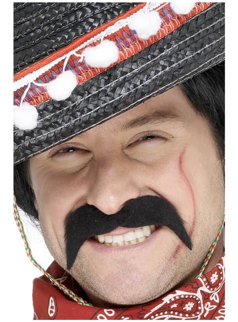 Bigode de bandido mexicano