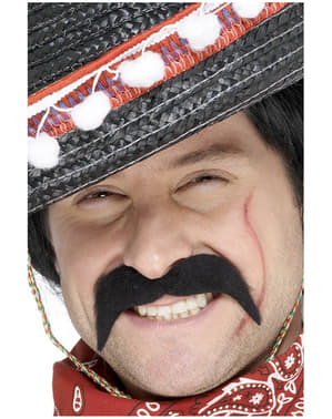 Knír mexického bandity