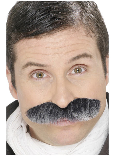 Moustache de commandant d'avion