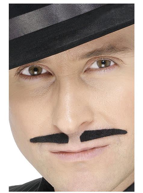 20er Jahre Mafia Schnurrbart