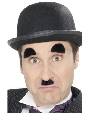 Чаплин, мустаци и вежди