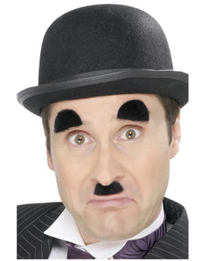 Snorretje en wenkbrauwen van Charly Chaplin