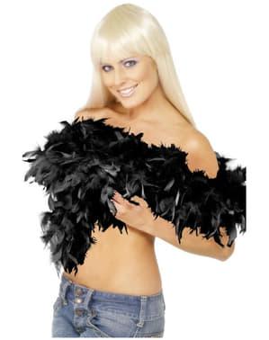Black Featherd Boa 80g