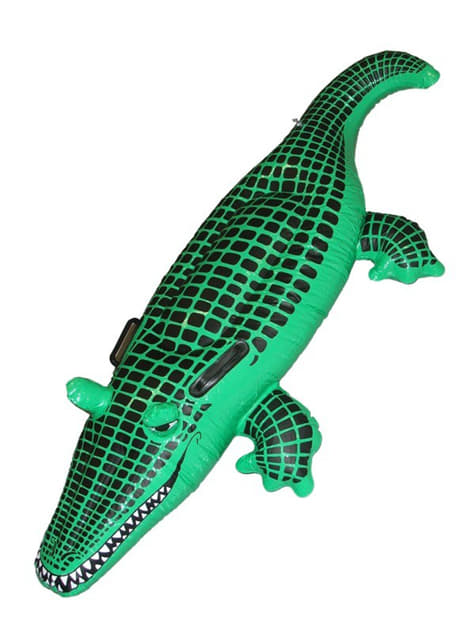 Crocodile gonflable