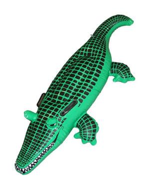 Надувний крокодил