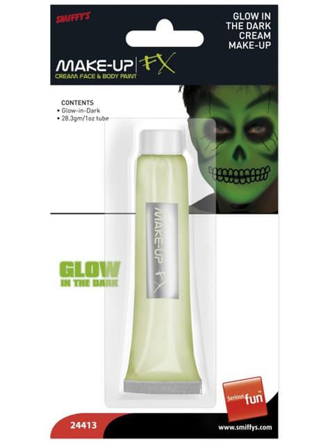 Maquillaje de brillo en la oscuridad - para tu disfraz