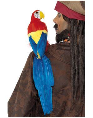 Färgglad Papegoja