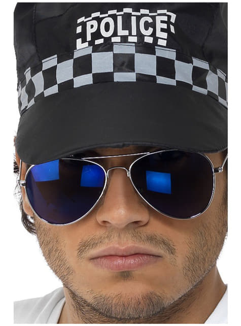 Ochelari de aviator albaștri oglindă